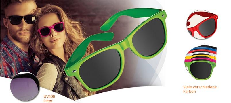 Sonnenbrille Werbeartikel günstig bedruckt