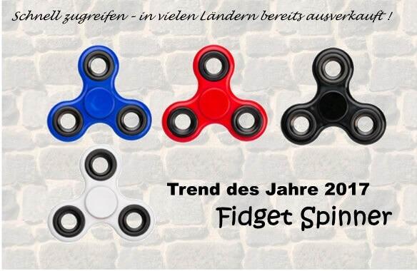 Fidget Spinner günstig mit Logo bedruckt kaufen