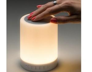 Bluetooth Lautsprecher mit Radio leuchtend, preiswert bedruckt