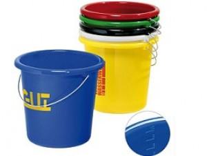 Kunststoffeimer 10 Liter mit Logo bedruckt