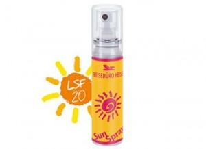 Sonnenschutz als Werbeartikel mit Logo bedruckt