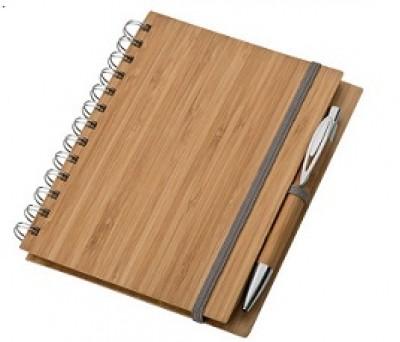 Notizbuch mit Bambusumschlag