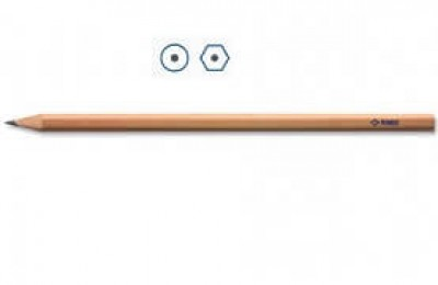STAEDTLER Bleistift rund oder 6-eckig, natur