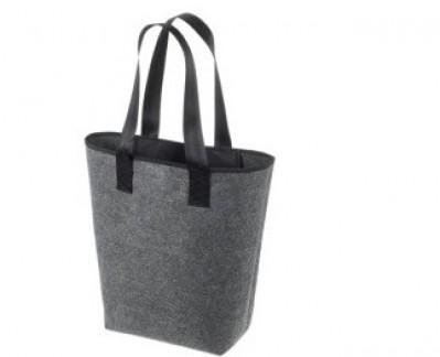 große Filz-Einkaufstasche preiswert bestickt