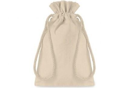 Kleiner Beutel aus Baumwolle, optimal als Geschenkverpackung