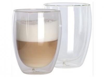 Glas doppelwandig als Werbemittel, günstig bedruckt