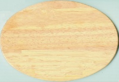 Holzbrettchen oval günstig mit Prägung