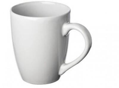 Keramik-Kaffeebecher bedruckt mit Logo ab geringe Bestellmenge