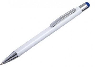 Metall-Kugelschreiber MILANO mit farbiger Gravur