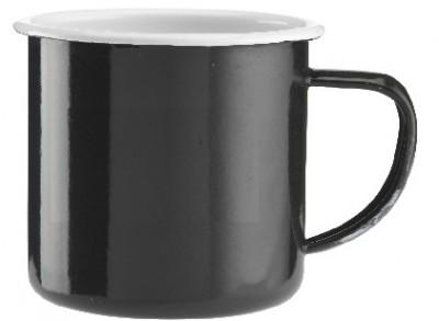 Kaffeebecher aus Emaille preiswert mit Logo bedruckt
