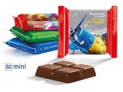 Schokolade bedruckt als Werbeartikel
