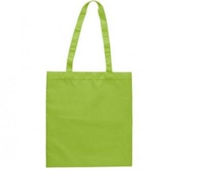 Einkaufstasche aus recyceltem Polyester mit lange Henkel