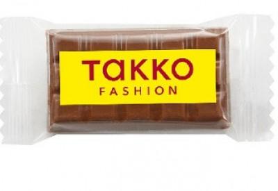 Preiswerte Schokladentäfelchen mit Logo bedruckt