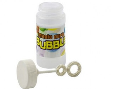 Seifenblasen als Werbemittel, günstig mit Logo bedruckt
