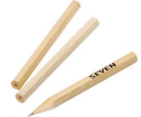 Bleistift kurz preiswert mit Werbedruck