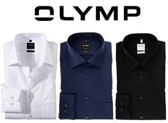 Olymp Hemden mit Logo bestickt